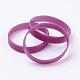 Silicone Wristbands Bracelets(BJEW-J176-06)-1