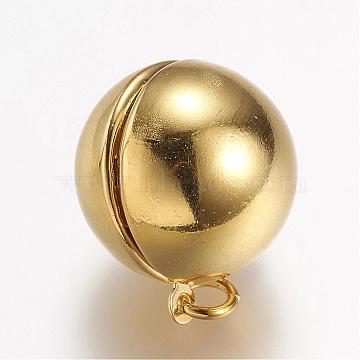 Golden Round Brass Pendants