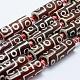 Tibetan Style dZi Beads Strands(TDZI-K003-14B)-1