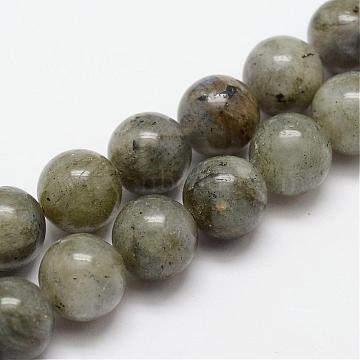 8mm Round Labradorite Beads