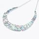 Abalone/Paua Shell Bib Statement Necklaces(NJEW-P212-08)-2
