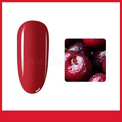 7 ml de gel pour les ongles, pour la conception d'art d'ongle, cerise, 3.2x2x7.1 cm; contenu net: 7 ml(MRMJ-Q053-010)