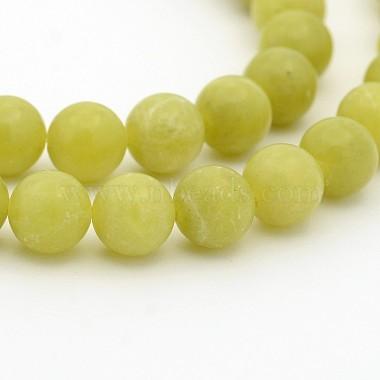 6mm Round Peridot Beads