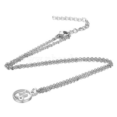 304 Stainless Steel Pendants Necklaces(NJEW-S063-TN505-10)-2