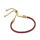 Adjustable Leather Cord Bracelets(BJEW-I242-04)-1