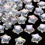 Cornflower Blue Star Acrylic Beads(TACR-S152-02D-SS2113)