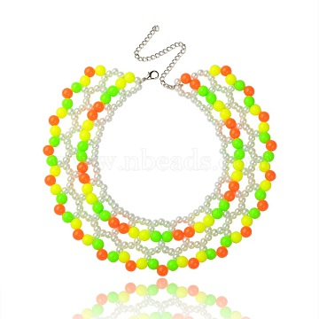 Colorful Acrylic Necklaces