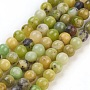 4mm Olive Round Australia Jade Beads(G-F576-01-4mm)