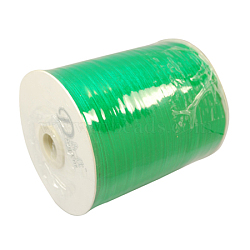 "Ruban d'organza, lime, 1/4"" (6 mm); 500yards / roll (457.2m / roll)(RS6mmY019)"