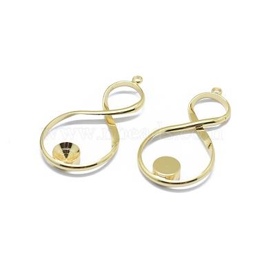 Brass Pendant Rhinestone Settings(X-KK-F797-59G)-2