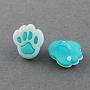 Medium Turquoise Acrylic Button(BUTT-Q022-A-01)