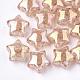 Transparent Crackle Acrylic Beads(TACR-S148-03C)-1