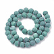 Synthetic Malachite Beads Strands(G-T106-199)-3