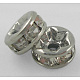 Middle East Rhinestone Spacer Beads(X-RSB038NF-01K)-1