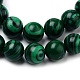 Synthetic Malachite Bead Strands(X-G-Q462-57-8mm)-2