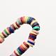 Handmade Polymer Clay Beads(X-CLAY-R067-5.0mm-M2)-2