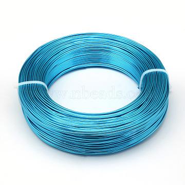 0.6mm DeepSkyBlue Aluminum Wire