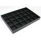 Stackable Wood Display Trays Covered By Black Leatherette(X-PCT107)-2