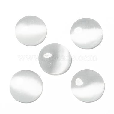 Cat Eye Glass Cabochons(X-CE074-25-1)-3