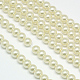 Environmental Dyed Glass Pearl Round Beads Strands(HY-A002-14mm-RB011)-1