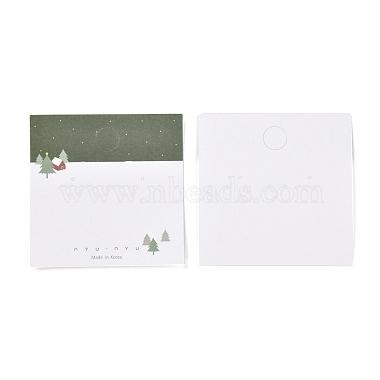 Рождественские тематические бумажные карточки для ювелирных украшений(CDIS-A003-02)-1