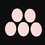 Pink Oval Iron Slide Charms(X-IFIN-T009-15F)