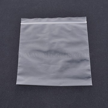Plastic Zip Lock Top Seal Bags, Resealable Packaging Bags, Self Seal Bag, Rectangle, Clear, 9x6cm; Bilateral thickness: 0.1mm; inner size: 6x8cm, about 100pcs/bag(OPP-O002-6x9cm)