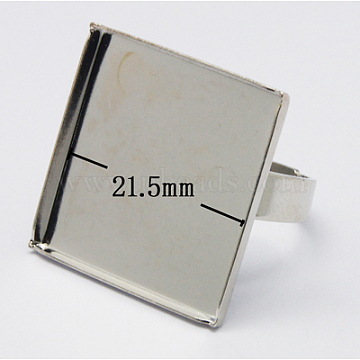Platinum Iron Ring Components