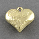 Valentines Day Gifts Ornaments Ideas CCB Plastic Heart Carved Rose and Word Love Pendants(X-CCB-Q076-70)-1