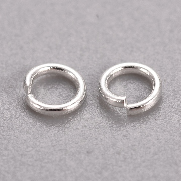 Silver Ring Stainless Steel Close but Unsoldered Jump Rings