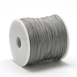 Cordons polyester, grises , 0.8 mm; environ 120~130 m/rouleau(OCOR-Q037-08)