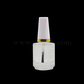Translucent Nail Polish, Light Oil, Manicure Nail Care Armor Glossy Oil, Clear, about 15ml/bottle(MRMJ-T010-111C)