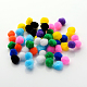 DIY Doll Craft Pom Pom Yarn Pom Pom Balls(X-AJEW-S006-25mm-M)-1