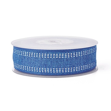 Polyester Ribbons, RoyalBlue, 1-1/2inches(38mm); about 50yards/roll(45.72m/roll)(SRIB-L050-38mm-C003)