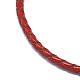 Adjustable Leather Cord Bracelets(BJEW-I242-04)-2