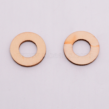 Unfinished Wood Linking Rings(WOOD-WH0099-12A)-2