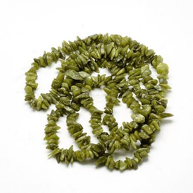 Natural Peridot Beads Strands(X-G-R002-12)-2