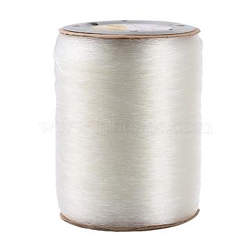 Korean Elastic Crystal Thread, Clear, 0.7mm, about 1093.61 yards(1000m)/roll(EW-KW0.7MM)