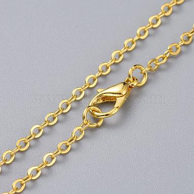 Triangle Alloy Pendants Necklaces(X-NJEW-JN02565-02)-4