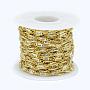 Clear Brass Handmade Chains Chain(CHC-P003-22G)