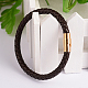 Braided Leather Cord Bracelets(BJEW-L497-19B)-1