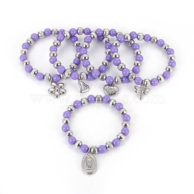 Bracelets avec breloque en 304 acier inoxydable(BJEW-I268-08C)-1