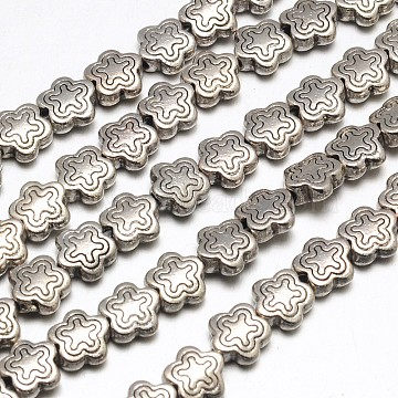 7mm Star Alloy Beads