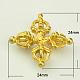 Brass Buddhist Pendants(X-KK-K053-G)-1
