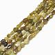 Natural Yellow Garnet Beads Strands(G-S301-24)-1