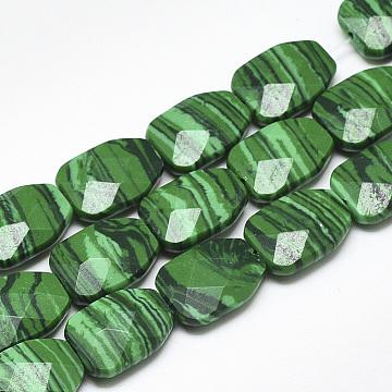 16mm Others Malachite Beads