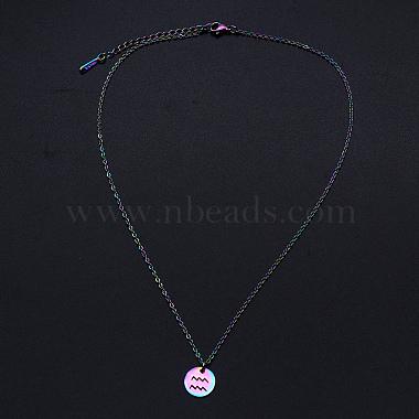 201 Stainless Steel Pendants Necklaces(NJEW-S105-JN627-11)-2