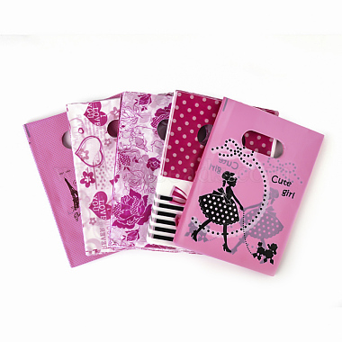 HotPink Plastic Pouches