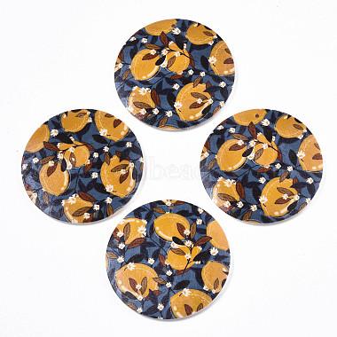 Fruit Seris Printed Wood Pendants(WOOD-S045-103B-01)-1