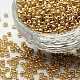 Electroplate Glass Seed Beads(X-SEED-Q004-1)-1